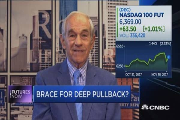 Ron Paul: Inflation is creating a dangerous distortion in stock market