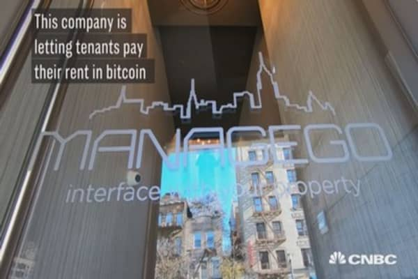 This company is letting tenants pay their rent in bitcoin