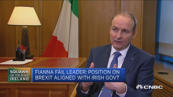 Strained relationship between Britain and Ireland, says Irish lawmaker