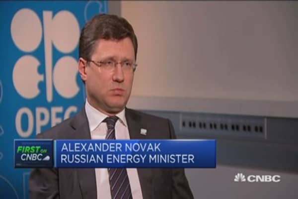 We included the growth of shale in our calculations: Russian energy minister