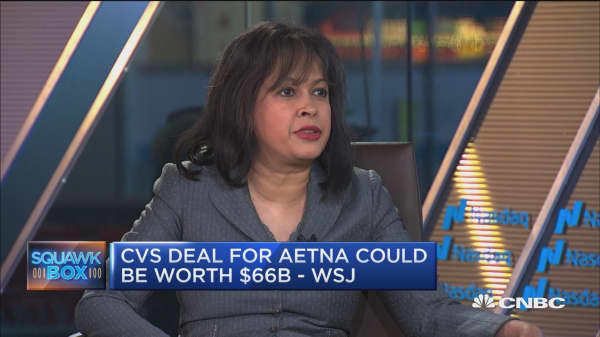 CVS moves closer to $66B deal to buy Aetna