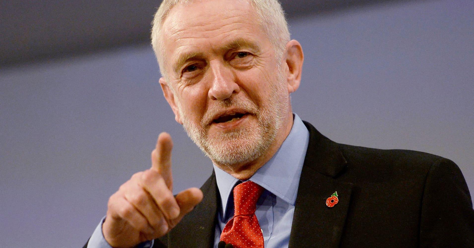 British Labour Leader Corbyn Tells Morgan Stanley You Re