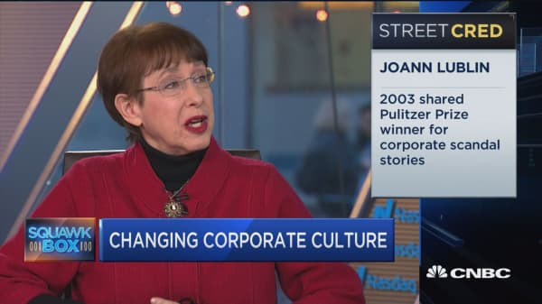 Combating sexual harassment in the workplace: Joann Lublin