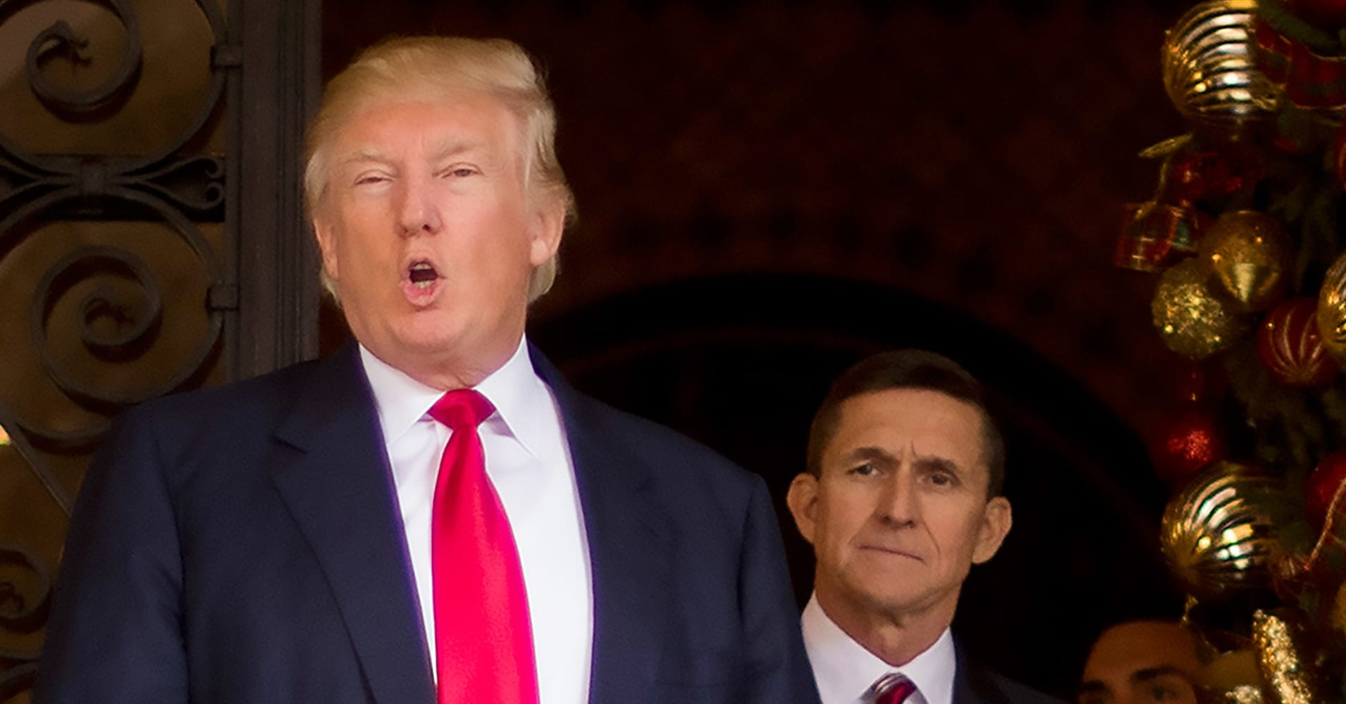Trump declines to say when he knew Flynn lied to the FBI: 'You know the answer'