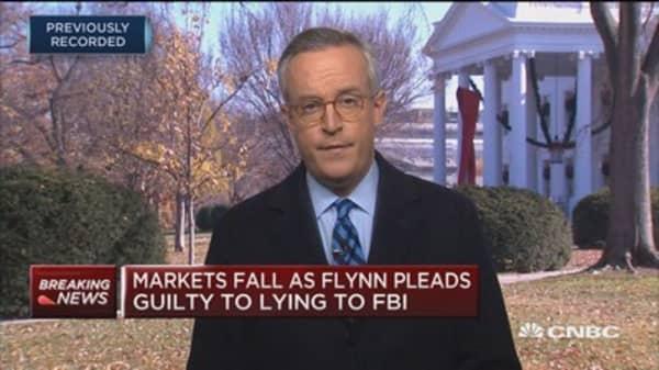 Trump ducks media event following Flynn guilty plea