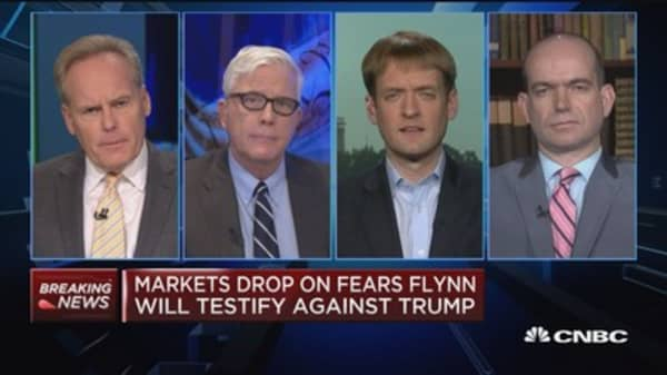 Russia probe is now in the White House with Flynn: Axios' Nick Johnston