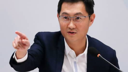 Tencent chairman and CEO Pony Ma