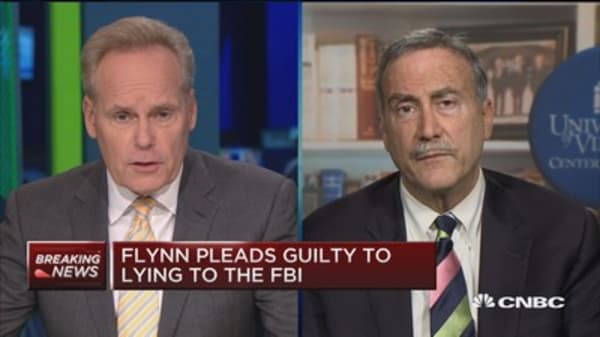The only reason Mueller made a deal with Flynn is info on higher-ups: Larry Sabato