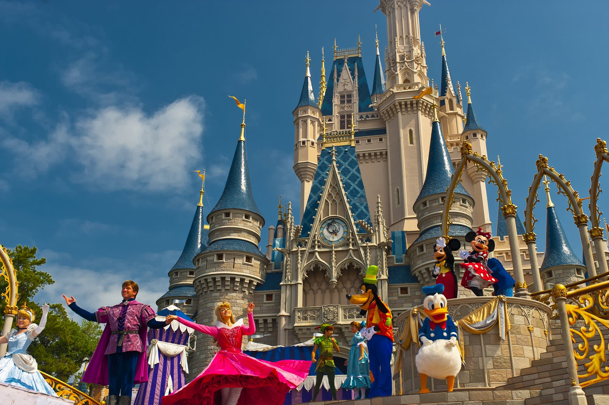 Disney World Magic Kingdom Wallpaper