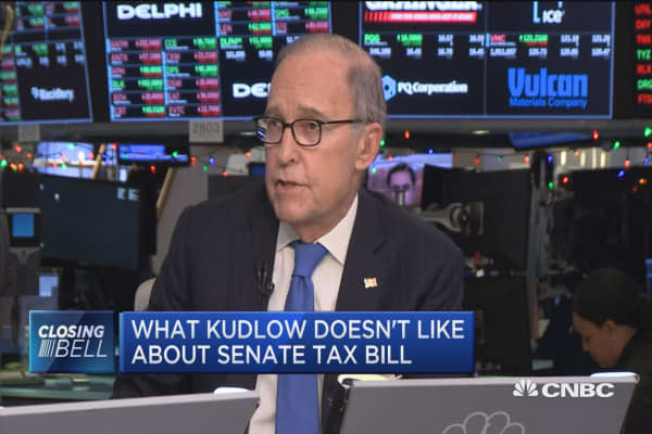 Warts and all, I'd vote for this bill: Kudlow