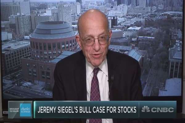 Wharton's Jeremy Siegel on the next milestone for the Dow, bitcoin and more