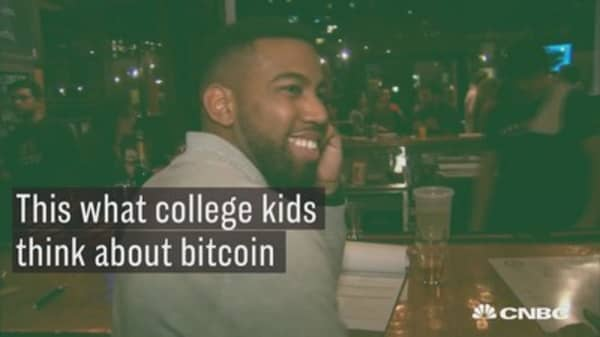 Here's what college students think of bitcoin