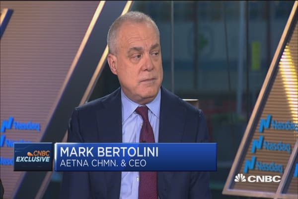 aetna ceo  we need a bipartisan solution to health care