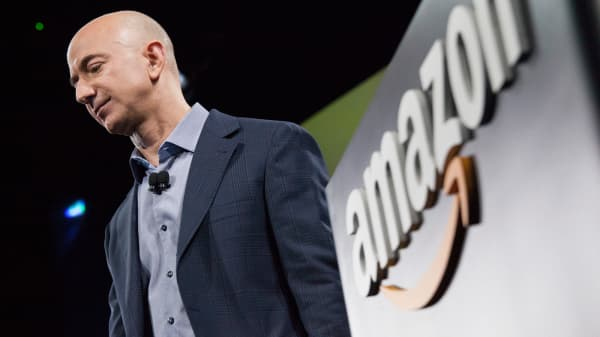Amazon.com founder and CEO Jeff Bezos.