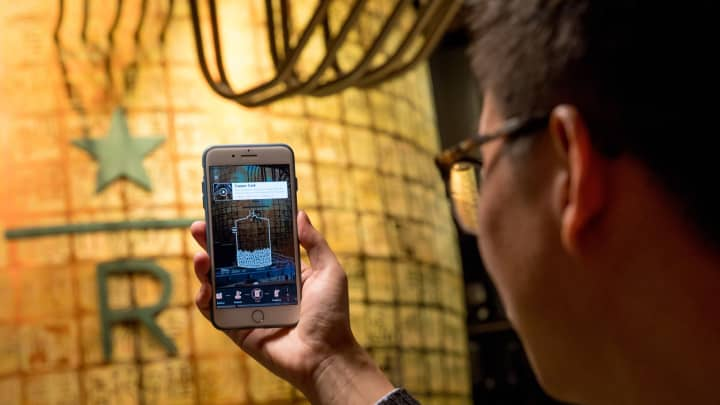 Starbucks' new Shanghai Roastery features augmented reality experiences