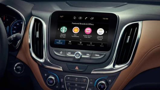 GM is launching a feature that allows people to shop while driving
