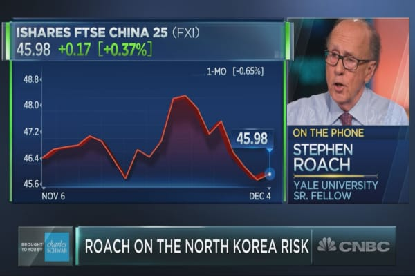 Yale's Stephen Roach on China-U.S. trade, North Korea and more
