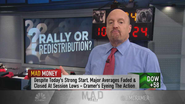 Cramer: 'This is not a rally.' It's 100% about tax reform