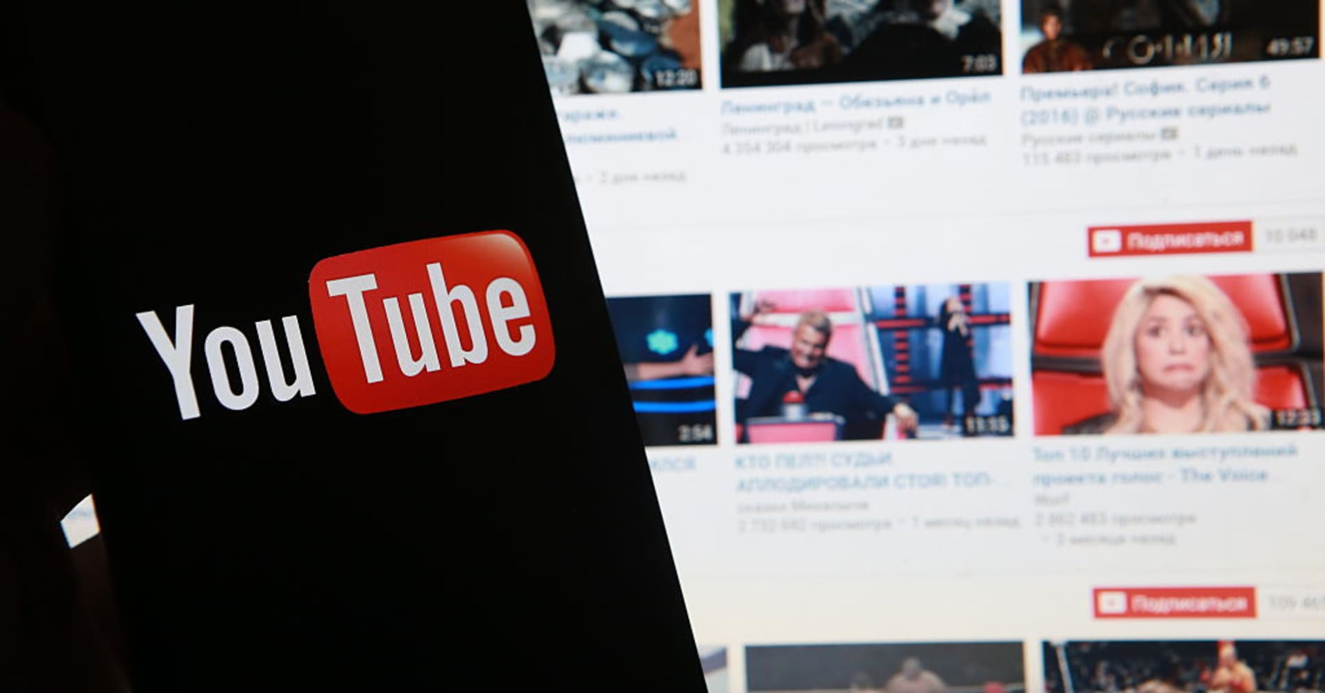 Five of YouTube's biggest markets in the world are in Asia