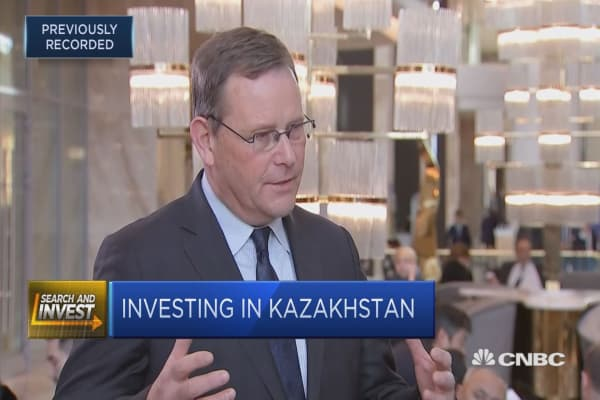 GSCM: Belief that Kazakhstan is diversifying from oil
