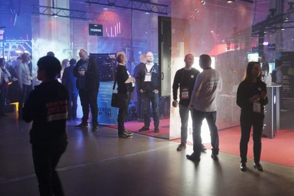 More than 2,000 startups attended this year's Slush conference in Helsinki, Finland.