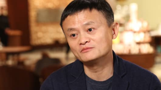 Jack Ma, founder and executive chairman of Alibaba Group in Shanghai China on Dec. 5th, 2017.
