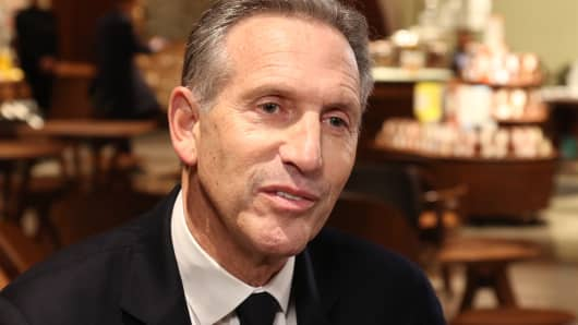 Howard Schultz, Chairman of Starbucks at the grand opening of the Starbucks Reserve Roastery in Shanghai, China on Dec. 5th, 2017.