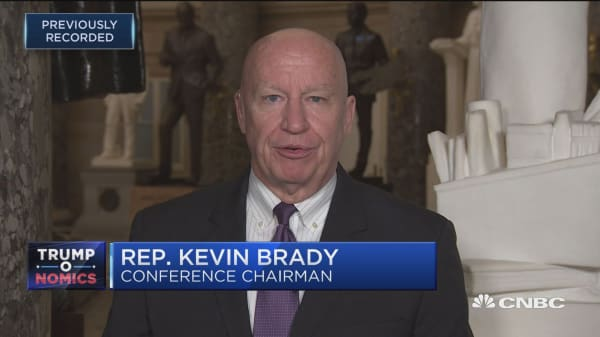 U.S. Rep. Kevin Brady: We're still focused on a 20 percent corporate tax rate