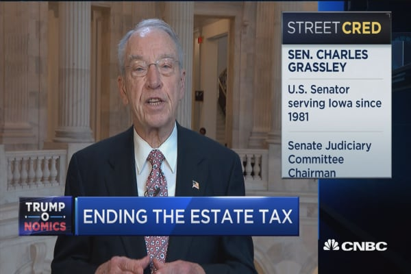 Sen. Charles Grassley: I have 'great confidence' tax bill can be worked out
