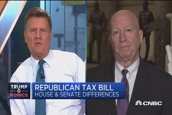 Top House tax writer Brady expects final tax bill to repeal Obamacare individual mandate