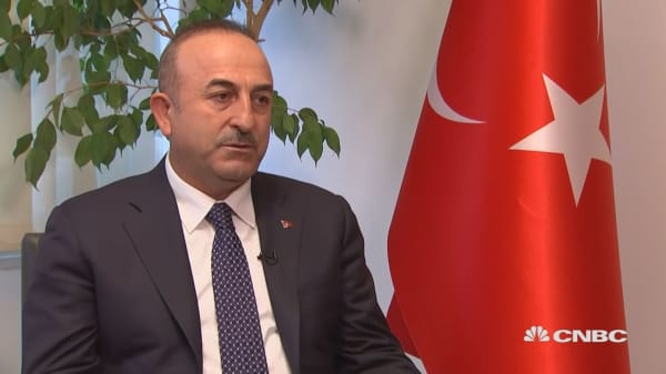 Turkish foreign minister says world is worried over US naming Jerusalem as the capital of Israel
