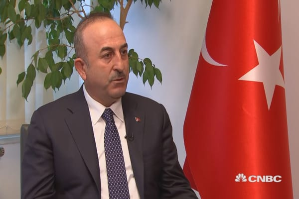 Turkey's foreign minister says US should uphold Iran nuclear deal