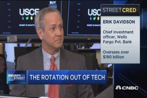 Tech rotation to continue until we get a final word on taxes: Cowen's David Seaburg