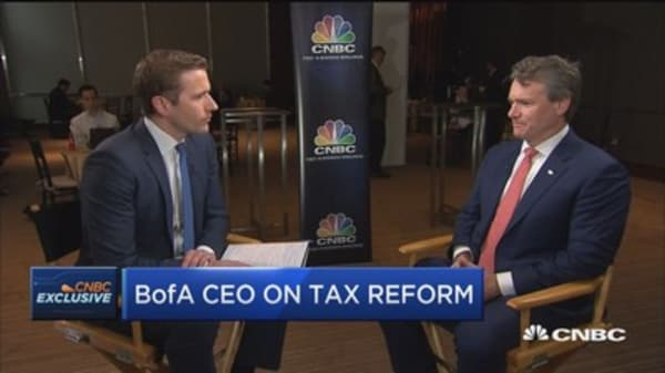 Bank of America CEO Brian Moynihan on why corporate America likes tax reform