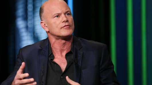 Michael Novogratz, CEO of Galaxy Investment Partners