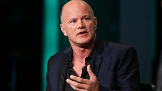 Michael Novogratz, CEO of Galaxy Investment Partners.