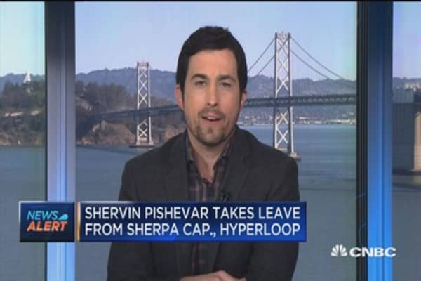 Shervin Pishevar takes leave from Sherpa Capital amid sexual harassment allegations