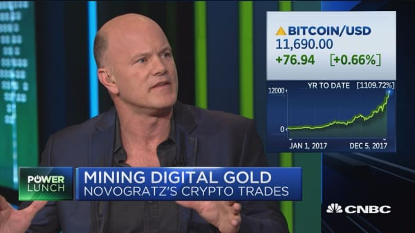 Galaxy Investment Partners' Mike Novogratz: Regulators have been working with bitcoin, technology