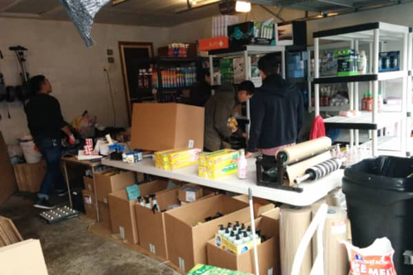 Boxed started in CEO Chieh Huang's parents' garage.
