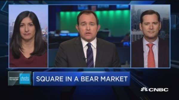 Trading Nation: Square in a bear market