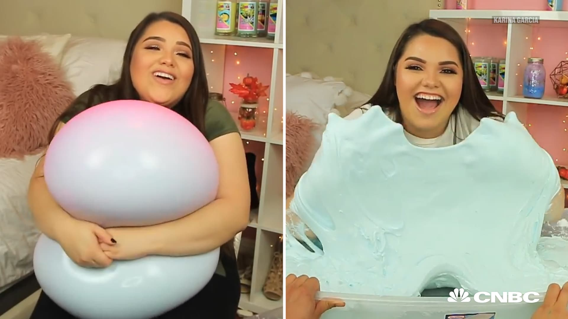 This former waitress is earning millions as youtubes slime queen ccuart Gallery