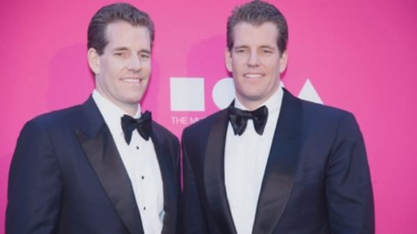 The Winklevoss twins just became bitcoin billionaires