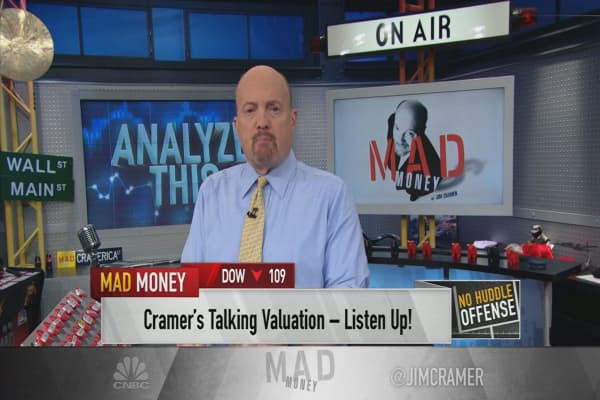 Cramer: If you think tech stocks are way too expensive, you're wrong