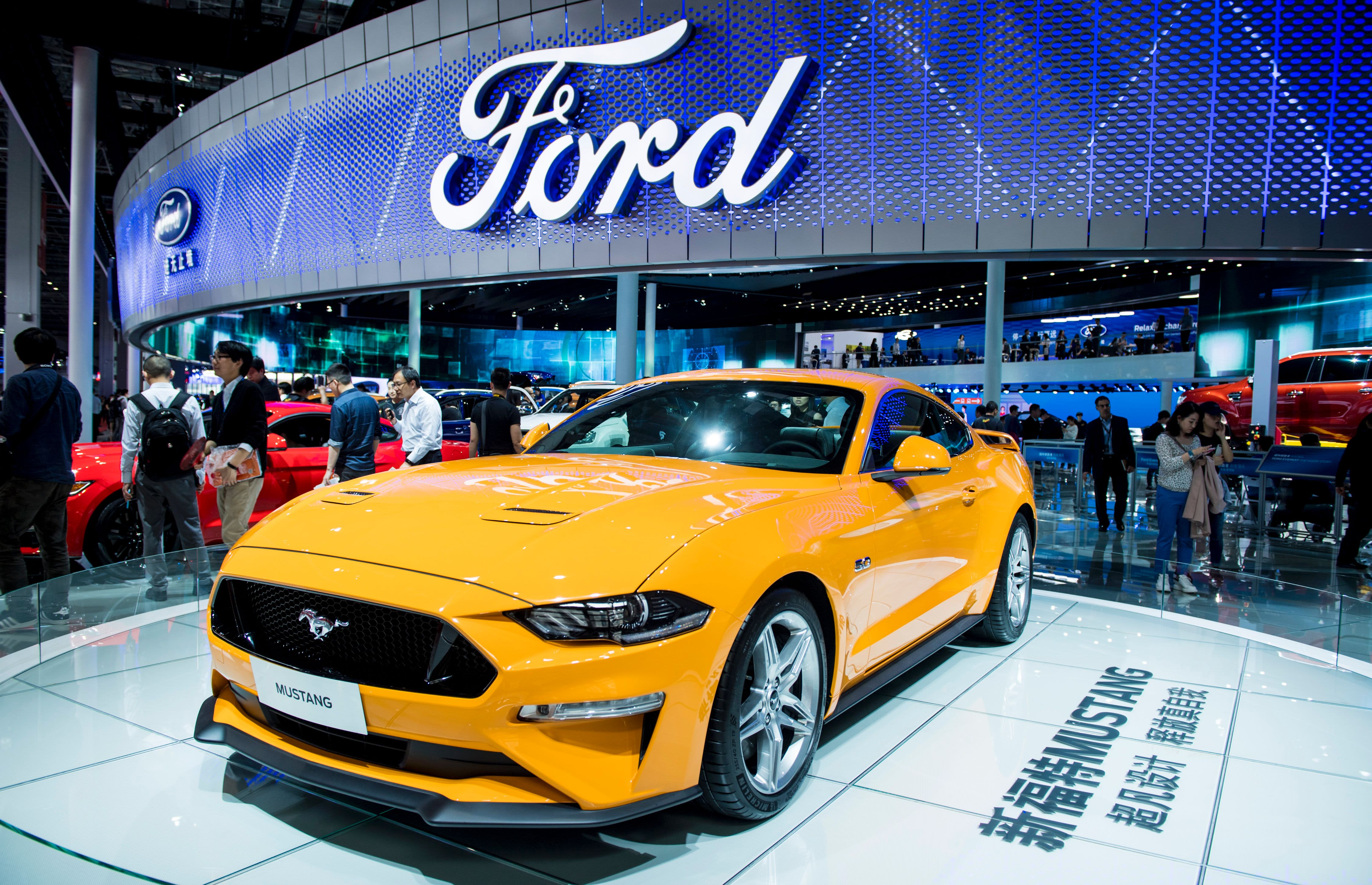 Ford china sales fall by more than 40 percent again