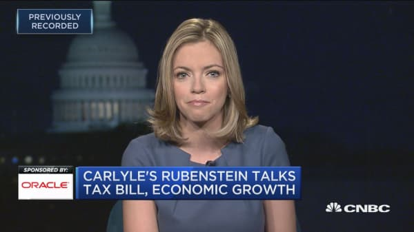 Carlyle's Rubenstein: Only market 'black swan' to worry about is unanticipated geopolitical event