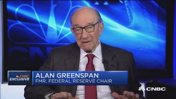 Alan Greenspan: We're about to go from stagnation to 'stagflation'