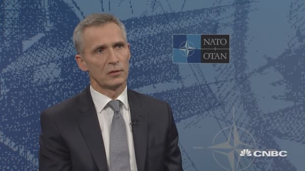 NATO's Stoltenberg: Iran's nuclear deal should remain in place