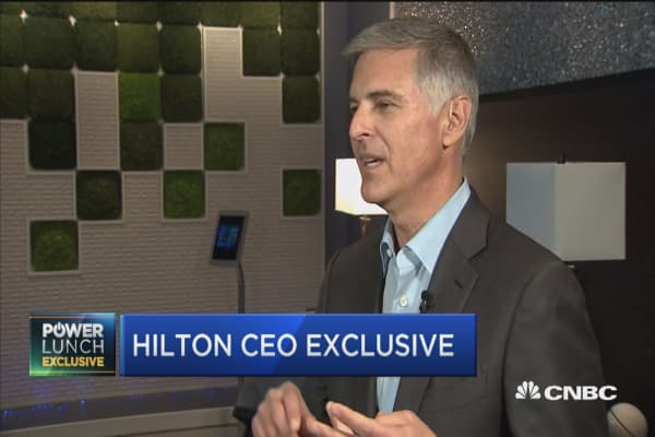 Hilton CEO: Innovation is in our DNA