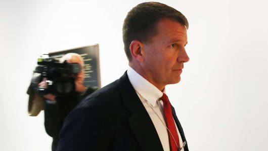 In Testy Testimony, Erik Prince Denies Involvement In Sketchy Russia Dealings