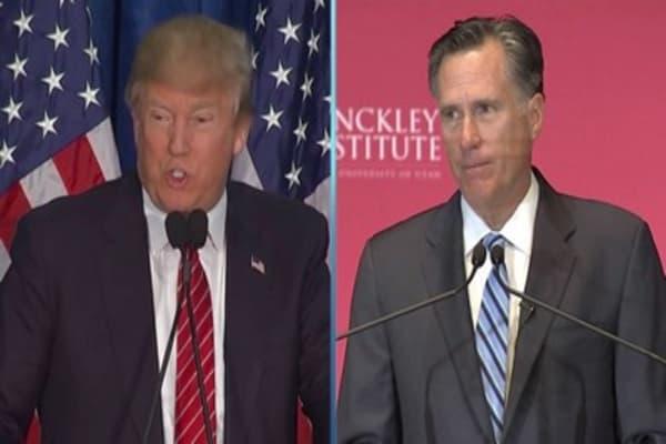 Trump speaks to Romney amid speculation on Utah Senate race